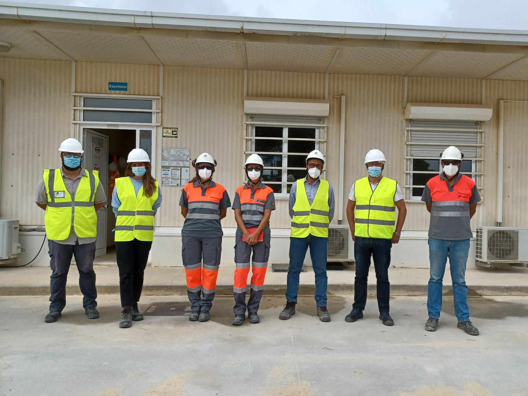 ANEFA team visited Agrepor Agregados